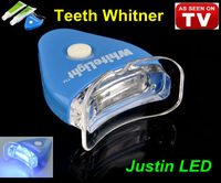 1pc/lot White Light Teeth Whitening System LED tooth Whiten Kit Personal Dental Care As Seen On TV China Post Free Shipping