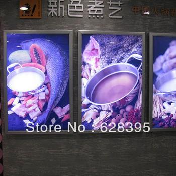 New Advertising Led Menu Board/Menu Light Box/Restaurant Light Box Signs