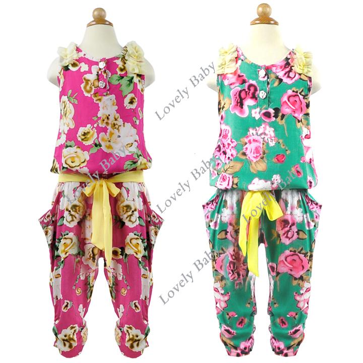 جديدة 2013 الاطفال ملابس الصيف الفتيات