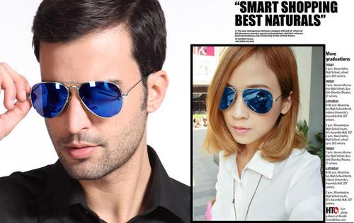 ray ban black mirrored aviators zjsj  ray ban wayfarer blue tinted sunglasses