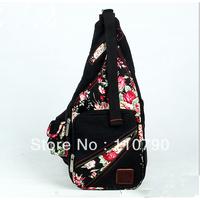 2013 new national style printing chest bag Messenger bag retro bag fashion lady bag leisure bag canvas bag