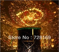2013 New Amazing Flashing  Star Master Lighten LED Projector Night Light Lamp LED Holiday Light Cupid