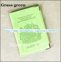 2013 the European and American passport holder, passport cover, leather passport to go abroad to personality, UK m embossing