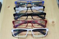 Optical myopia glasses frame TR90 ultra light thin fashion women's men's eye glasses prescription lens frame 2014 NEW2009