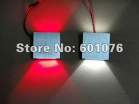 free shipping 10pcs/lot 100lm/w taiwan led 100% nice light 3w led wall light CE