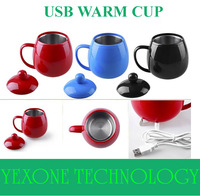 USB Powered Coffee Tea Beverage Cup Mug USB Warmer Heater Cup