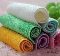 "Free Shipping Wholesale 5pcs/lot 100% Bamboo Fiber Dish Towels 23""*18 Blue Yellow Kitchen Towels Magic Dish Cloth"