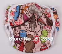 (100pcs/lot)baby cloth pants diaper nappy for swimming
