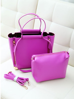 2013 women's handbag fashion genuine leather candy color big bag handbag