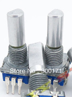 100pcs/lot 12mm Rotary Encoder Switch With Keyswitch