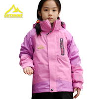Outdoor child outdoor jacket male female child outdoor jacket twinset ski suit male spring and autumn