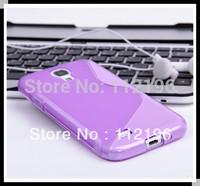 1000pcs Anti skid design galaxy s4 mini  i9190 Case silicone tpu S Line Phone cover Cases for samsung galaxy s4 mini i9190 Case