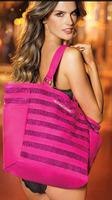 Beautiful BLING Hot Pink Limited Edition Sequin Beach Gym Tote Bag Handbag SHOPPER Drop shipping Wholesale Free Shipping