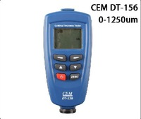 Digital DT-156 Paint Coating Thickness Gauge Meter Tester 0~1250um with Auto F & NF Probe + USB Cable + CD Software H594