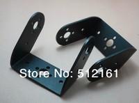 Long U-shaped bracket 2pcs aluminum tilt servo robot joints