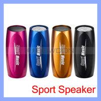 Sports Music Player Portable Mobile Speaker + FM Radio