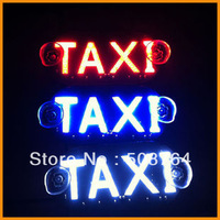 4PCS/LOT 45SMD LED Taxi Board Light Cab Top lamp to indicator license plate lighting in night driving white/blue/green/red