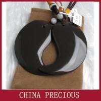 Free shipping 5A grade Original Si Bin Xuan yellow multifunctional bian stone taichi guasha board natural stone needle 1 pair