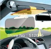 50pcs/lot Functional 2 in 1 Car Anti-glare Glass for Day & Night Driving / anti glare mirror Non-Glare + Free Shipping