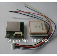 UBOX H-7123 GPS module with TTL interface, U-BLOX NEO-6M Chipset, GPS Tracker, GPS Receiver, Ceramic Antenna, 25*28*7.5MM, 3-5V