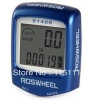Roswheel14 Function Wired Waterproof Speedometer,Free Shipping