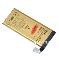 High capacity 2680mah For iphone 4 4G gold business Battery akku accu batterie batteria  free shipment