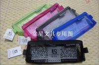 A6-04 pencil case a6 transparent zipper bag mesh bags 5-color