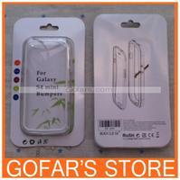 PC TPU Hybrid Bumper Case Skin Cover Frame TPU For Samsung Galaxy S4 mini i9190 by DHL