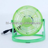 Portable USB mini desktop fan