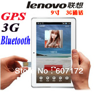"Lenovo A901 3G Tablet pc 9"" IPS Screen MTK6577 Dual-Core Built-in 3G Bluetooth GPS Module SIM Call Phone Dual Camera Android4.0"