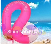 free ship kid inflatable life vest swimming ring swimming vest floating ring U-armpit floating ring with safety clasp Trumpet