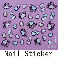 [DGTL-002]Free Shipping+Wholesale 3D Christmas Sticker Nail Art Decals Decoration,10sets/lot