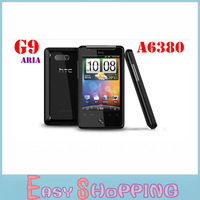 Original HTC A6380 G9 Aria 3.2inch with wifi GPS WIFI 3G 5MP Unlocked Cell Phone HK SG Post Free shipping