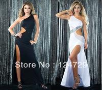 Sexy Dresses evening dress white dress temperament, Europe and Latin dance dress clothes games