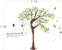Elegant Wall Sticker Beauty Tree