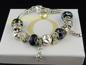 Free Shipping MOQ 1Piece Lady Bracelet Fashion Style High Quality Gift Package (Dust Bag,Gift Box) #PB-02