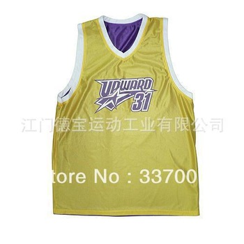 Reversible basketball clothing sportswear 5 PCS