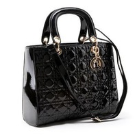 2012 New Fashion Ladies' Vintage Celebrity Tote PU Leather Handbag Shopping Shoulder Bag   Free shipping B3002