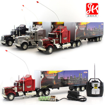 10 wheel remote control big trucks model stacking container toy car large scale cars