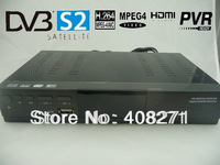 Hot sale NEW HD DVB-S2 DVB-S MPEG-4 EPG DVB USB PVR HD Digital Satellite Receiver +Remote controller
