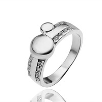 18K Gold Plated Nickel Free Ring Latest Fashion Jewelry Factory Price Wholesale and Dropshipping LR257-8