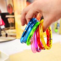 Hot-selling stunning bracelet pen transparent tape color bead novelty pen