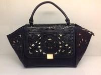 Aimali cutout embroidery bag cross-body handbag Large