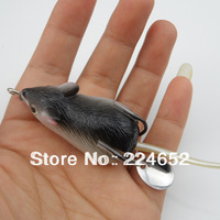 New 12g 50mm Fishing Lure Bait Soft Rubber F-r-o-g Lures Mouse Mice Swimbait Hook Size Small Free Shipping