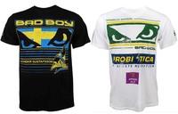novelty men's short sleeve t shirt  mma mixed martial arts t-shirtr black white  XL-XXL dropshiping wholesale free shipping
