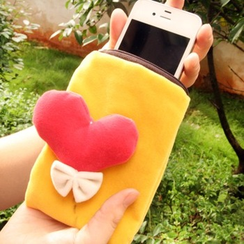 Hot balloon mobile phone bag fabric mianduanrong fashion coin purse key wallet cell phone pocket mobile phone case