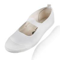 Free shipping Web white gym shoes classic white dance shoes canvas single shoes four seasons white shoes  wholesale