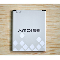 FreeShipping 2050mah battery for Amoi N820, N821, N828. N818 and N850 smart phone