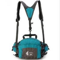 Outdoor multifunctional waist pack outdoor double-shoulder outdoor shoulder bag waist pack ride bag