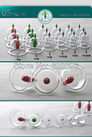 free shipping 18 cups Vacuum Cupping Set traditional Chinese medicine Vacuum Cupping Set Massage Therapy Suction Apparatus Cups